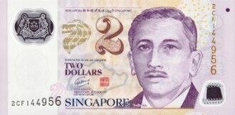 Singapore dollar - Image: SGD 2 Polymer f