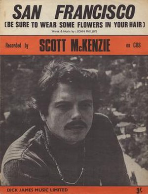 Scott McKenzie - San Francisco (Be Sure To Wear Some Flowers In Your Hair) (1967)