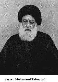 Mirza Sayyed Mohammad Tabatabai Iranian activist