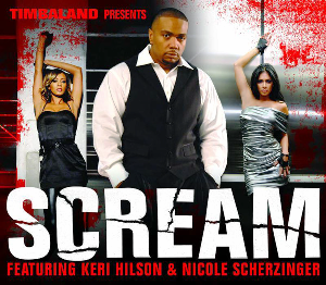 Scream (Timbaland song) - Image: Scream Single Cover