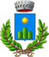 Coat of arms of Serra Sant'Abbondio