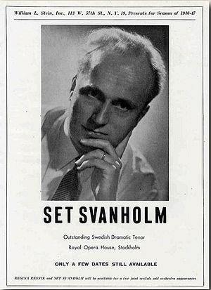Svanholm, Set (1904-1964)