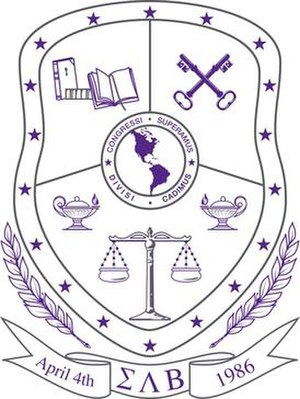 Sigma Lambda Beta - The official crest of Sigma Lambda Beta.