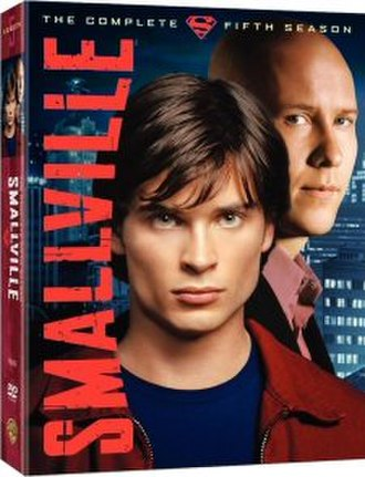 Smallville (season 5) - DVD and Blu-ray cover