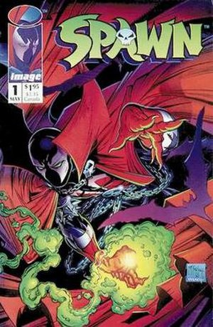 Todd McFarlane - The cover to Spawn No. 1 (1992)