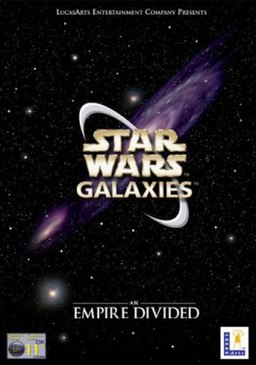 Star Wars Galaxies box art.