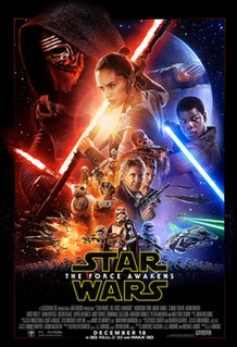 <i>Star Wars: The Force Awakens</i> 2015 American epic space opera film directed by J. J. Abrams