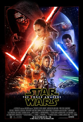 Star Wars: The Force Awakens - Theatrical release poster