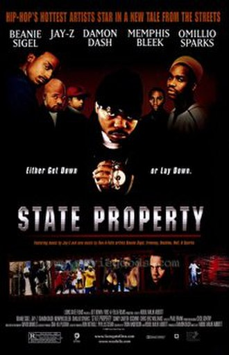 State Property (film) - Theatrical release poster