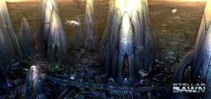 Jagex - Stellar Dawn promotional concept art