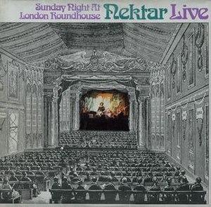 Sunday Night at London Roundhouse - Image: Sunday Night at the London Roundhouse