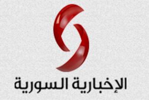 Syrian News Channel - Image: Syrian News Logo