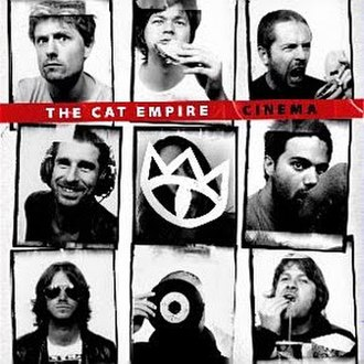 Cinema (The Cat Empire album) - Image: TCE Cinema