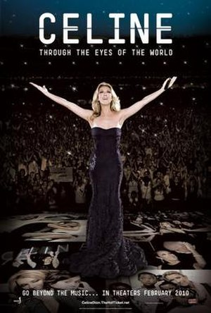 Celine: Through the Eyes of the World - Theatrical release poster