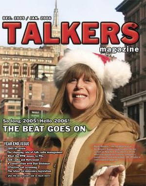 Talkers magazine cover, showing Randi Rhodes, ...