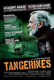 <i>Tangerines</i> (film) 2013 Estonian-Georgian film directed by Zaza Urushadze