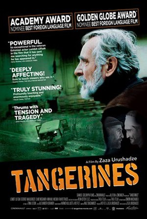 Tangerines (film) - Film poster