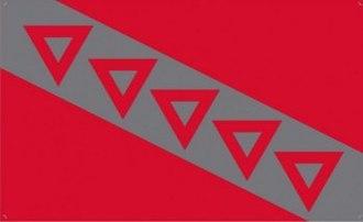 Tau Kappa Epsilon - Image: Tau Kappa Epsilon flag
