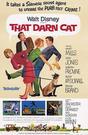 That Darn Cat! - Theatrical release poster