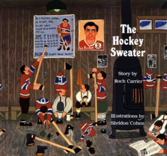 The Hockey Sweater - The cover of The Hockey Sweater