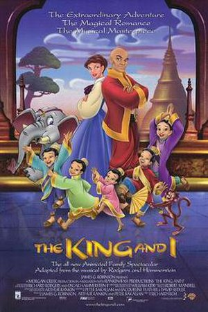 The King and I (1999 film) - Theatrical release poster