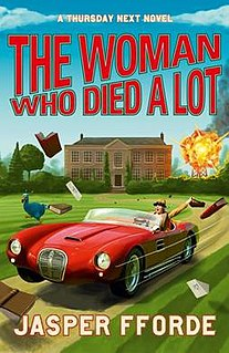 <i>The Woman Who Died a Lot</i> book by Jasper Fforde