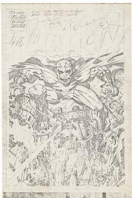 The Demon issue 1 splash