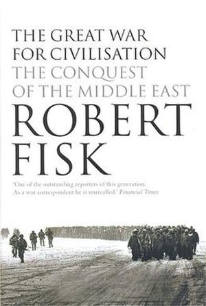 Dust jacket of The Great War for Civilisation,...