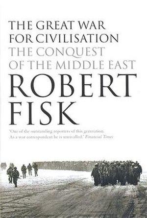 Dust jacket of The Great War for Civilisation,...