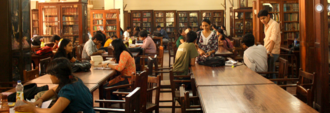Government Law College, Mumbai - The Harilal J. Kania Memorial Library and Reading Room houses more than 42,000 books, including the original copy of the Indian Penal Code.