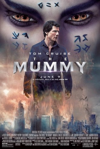 The Mummy (2017 film) - Theatrical release poster