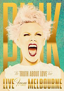 The Truth About Love Tour Live from Melbourne DVD Cover.jpg
