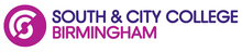 This is the logo for South & City College Birmingham. Original August 2012 Logo.png
