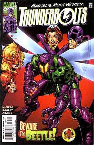 Beetle (comics) - Image: Thunderbolts 35