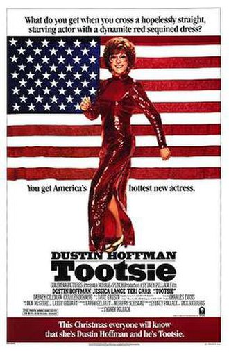 Tootsie - Theatrical release poster