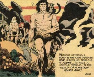 Tor. Art by Joe Kubert.