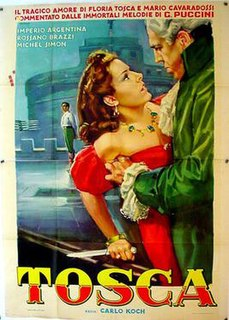 <i>Tosca</i> (1941 film) 1941 Italian film by Carl Koch and Jean Renoir