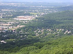View from Pagoda atop Mt. Penn