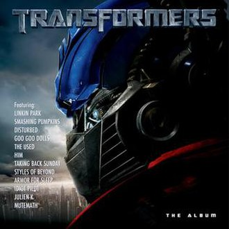Transformers: The Album - Image: Transformers 2007Soundtrack