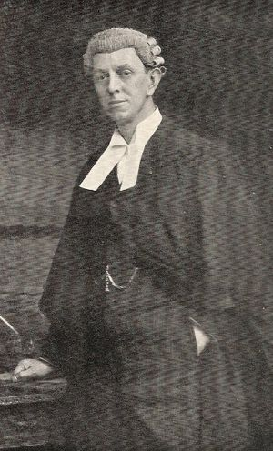 Travers Humphreys - Humphreys soon after being called to the Bar c.1890