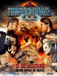 Triplemanía XX 2012 Lucha Libre AAA World Wide event