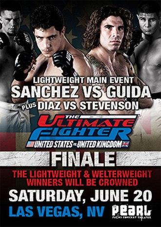 The Ultimate Fighter: United States vs. United Kingdom - Image: UFC Sanchez Guida