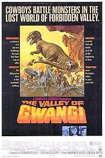 <i>The Valley of Gwangi</i> 1969 film by Ray Harryhausen, Jim OConnolly