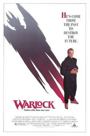 Warlock (1989 film) - American theatrical release poster