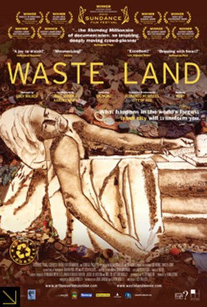 Waste Land (film) - Promotional film poster