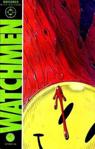 Watchmen - Image: Watchmen, issue 1