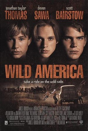 Wild America (film) - Theatrical release poster