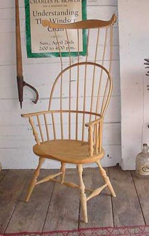 Windsor chair - Comb-back Windsor armchair