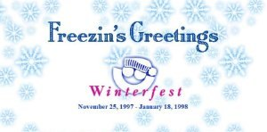 Summerfest - 1997-1998 web banner for Winterfest