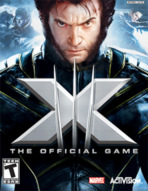 X-Men: The Official Game - Image: X Men The Official Game Coverart